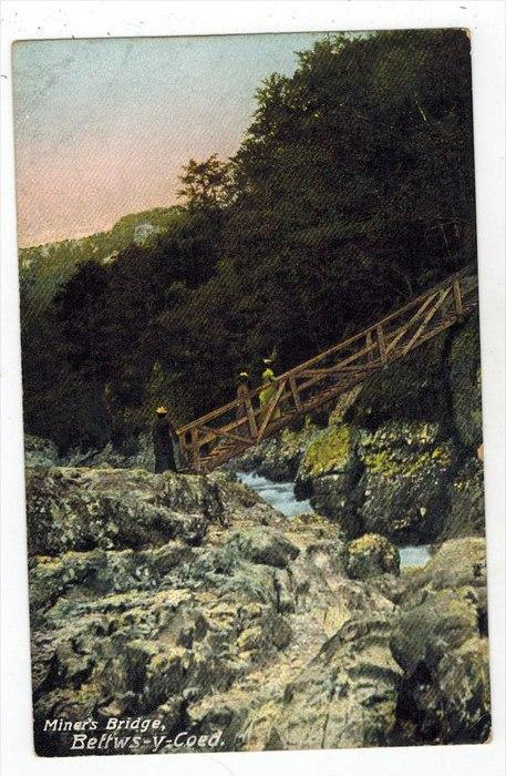 United Kingdom  Wales     Beffws-y-coed Miner´s Bridge