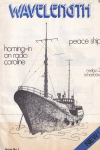 Radio Caroline Pirate MI Amigo Spain Ship DJ ISSUE ONE RARE Magazine