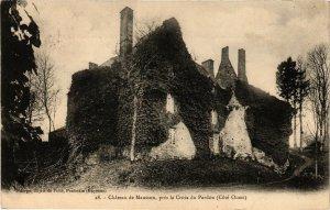 CPA Cháteau de Mausson prés la Croix du Pardon-Cóté Ouest (186473)