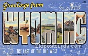 Wyoming, USA Postcard Post Cards Wyoming, USA