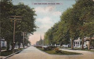 Iowa Waterloo East Park Avenue 1910