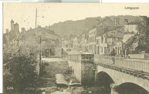 France, Longuyon, 1916 used Postcard CPA