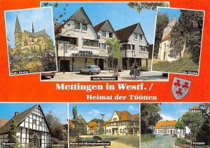 Mettingen Heimat der Tuotten Ev Kirche Kniepen Museum Hotel Teslemeyer Markt