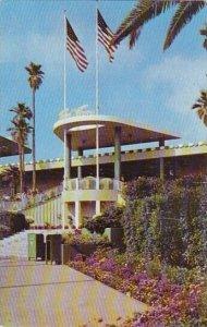 Club House Entrance Hollywood Park Race Track Inglewood California