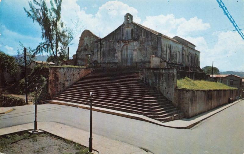 SAN GERMAN PUERTO RICO~FIGLESIA PORTA COELIS-ONE OF OLDEST CHURCHES POSTCARD