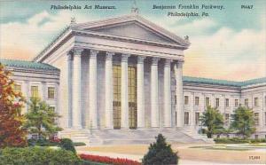 Pennsylvania Philadelphia Philadelphia Art Museum Benjamin Franklin Parkway