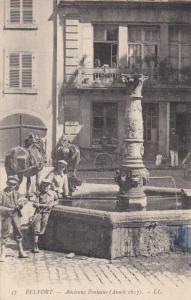 BELFORT , France , 00-10s ; Ancienne Fontaine
