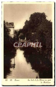 Dreux - The Banks of the Blaine Metereau the bridge - Old Postcard