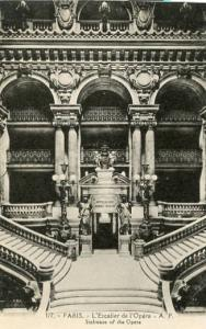 France - Paris, Staircase of the Opera House