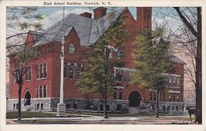 New York Norwich High School Building