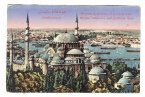 Mosquee Suleymanie Et La Corne d'Or, Constantinople, Turkey, 1900-1910s