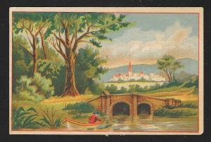 VICTORIAN TRADE CARD Evans Dining Rooms
