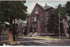 BIDDEFORD, Maine, 1900-1910's; St. Mary's School