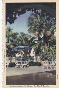 SEA ISLAND, Georgia, 1930-40s ; Palm Dance Patio, The Cloister