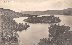 Scotland Trossachs, Loch Katrine and Ellen's Isle, Valentine's Series 1905