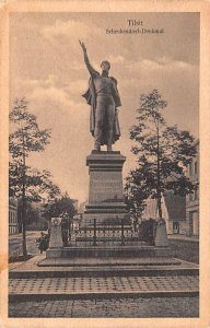 Schenkendorf Denkmal, Tilsit Germany 1930
