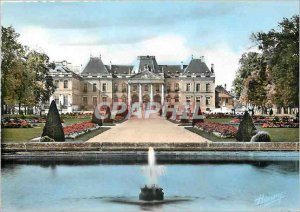 Modern Postcard Luneville Chateau seen from the central basin