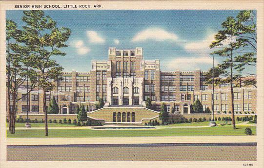 Senior High School, Little Rock, Arkansas, 30-40s
