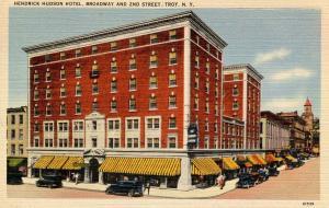 NY - Troy.  Hendrich Hudson Hotel, Broadway & 2nd.