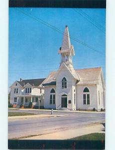 Unused Pre-1980 CHURCH SCENE Harrington Delaware DE p3826-39