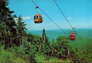 Vermont Killington Ski Resort Aerial Ski Lift
