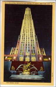 RCA Bldg, Rockefeller Center, NYC