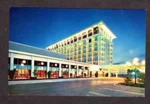 MO St Louis Marriott Hotel near Lambert Airport Missouri Postcard PC