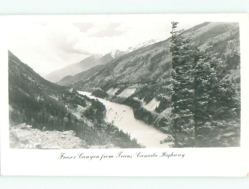 1950's rppc FRASER VIEW By Hope & Chilliwack & Abbotsford & Vancouver BC W0965