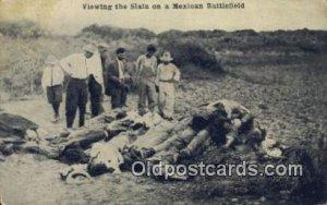 Mexican War, Viewing the Slain Mexican Battlefield Unused light wear