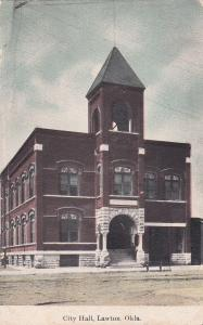LAWTON , Oklahoma, 1900-10s; City Hall