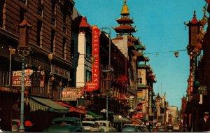California San Francisco Chinatown Grant Avenue