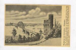 Waalbrug met Belevedere - Nijmegen, Netherlands, 1910s (Bridge)