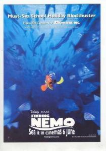 Disney, Finding Nemo, NEMO in school of fish, 1990s