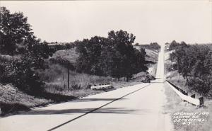 Illinois Highway 100 South Of Detroit Real Photo