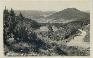 Norway Postcard Bergen picturesque landscape picture
