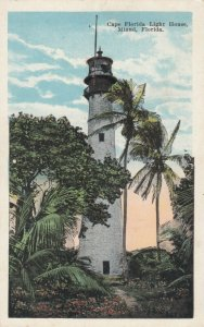 MIAMI  , Florida , 1910s ; Cape Florida LIGHTHOUSE