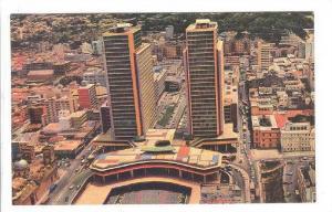 Centro Simon Bolivar, Vista aerea, Caracas, Venezuela, 40-60s