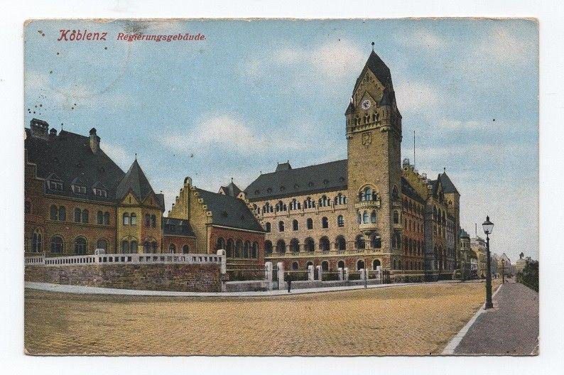 GERMANY postcard 1910 years KOBLENZ DEUTSCHLAND