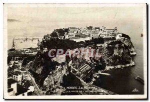 Old Postcard Monaco Rocher shooting Observatory