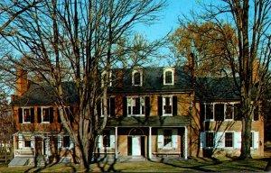 Pennsylvania Lancaster Wheatland Home Of President Buchanan Rear View