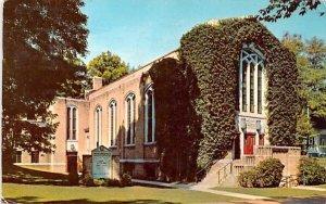 Hurlbut Memorial Community Church Chautauqua, New York