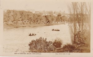 RP; ADELAIDE , Australia, 30-40s; Boats at Elder Park