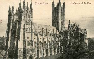 UK - England, Canterbury Cathedral, Southwest View