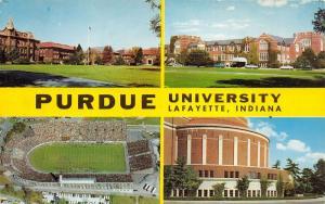 Lafayette Indiana~Purdue University-Oval-Band Shell of Music-Union-Stadium~Pc