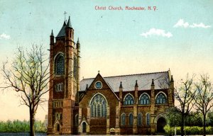 Rochester, New York - A view of Christ Church - in 1913