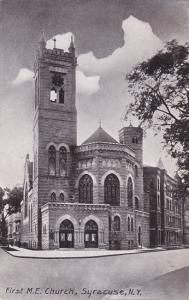 First Methodist Episcopal Church - Syracuse NY, New York - DB