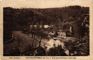 CPA CHATEAUPONSAC (H.-V.) - Vue panoramique (cote sud) (293951)