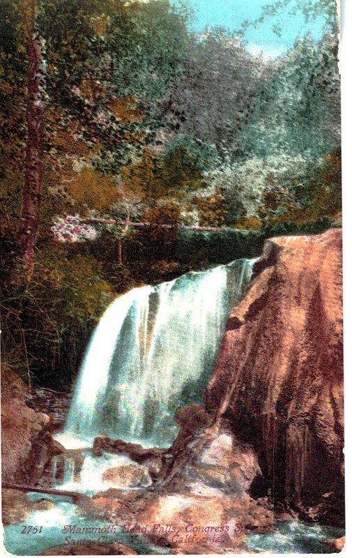 2751 - Mammoth Head Falls, Congress Street, Santa Clara, Cal.