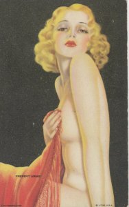 PIN-up ; 1930s ; Present arms!