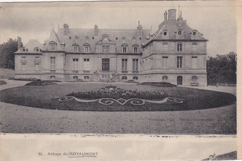 PARIS, France, 1900-1910's; Abbaye De Royaumont